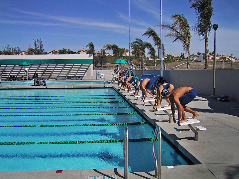 Rjmdesigngroup Chaparral High School Swimming Pool