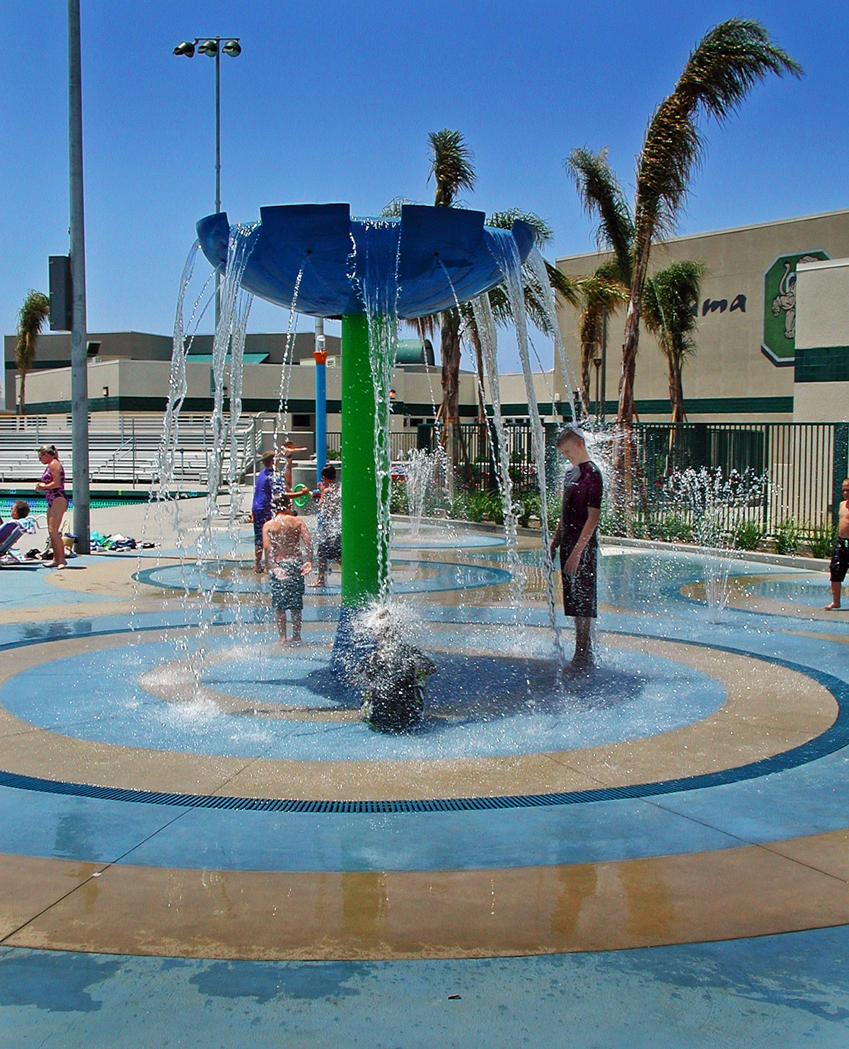 RJMDesignGroup » Chaparral High School Swimming Pool