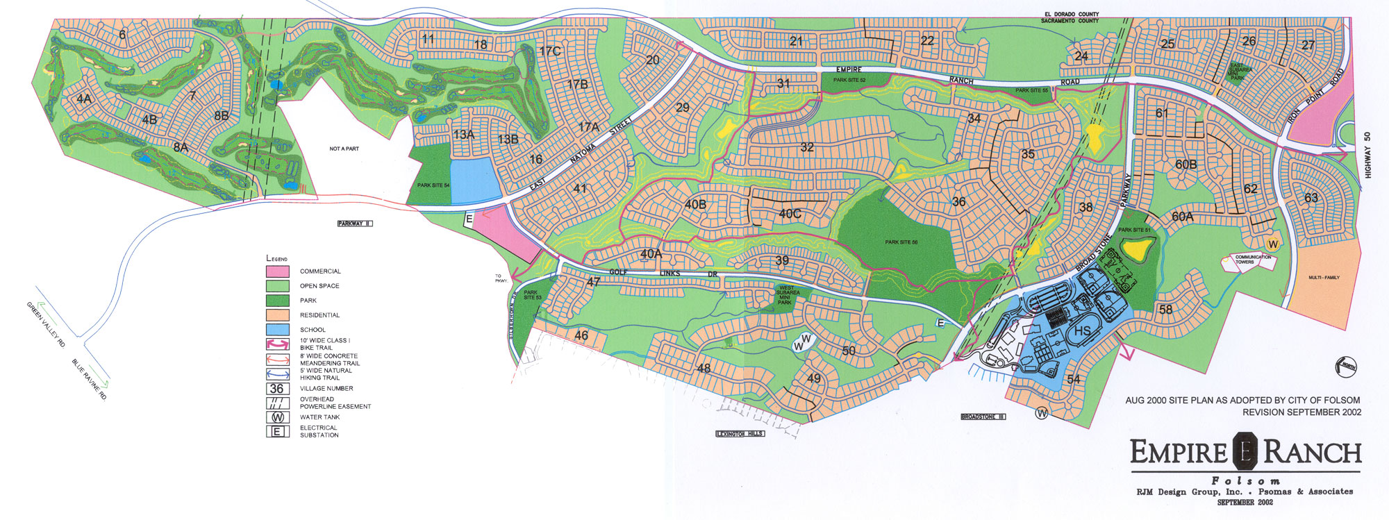 Folsom High School Campus Map.Rjmdesigngroup Empire Ranch