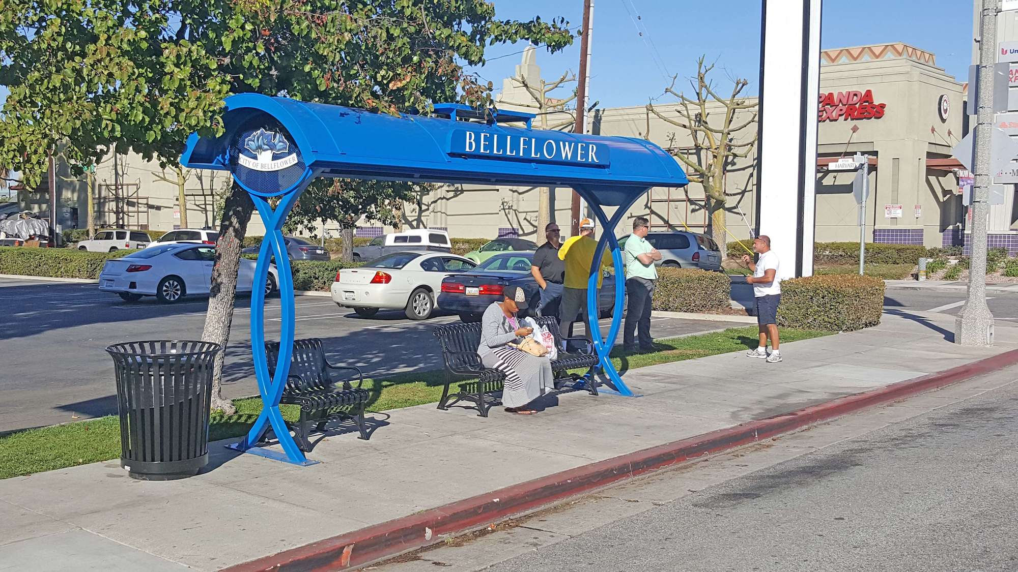 "Featured image for ""Bellflower Bus Shelters"""